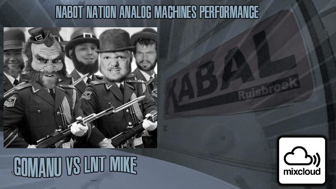 Nabot Nation Man Made Analog Records