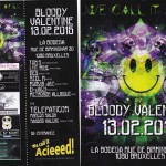 Flyer for WCIA Bloody Valentine